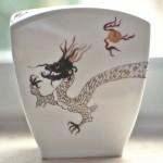 Vase Drache