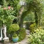 Spaziergang durch den Garten
