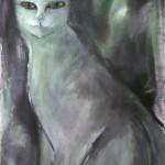 Sphinx (Acryl) 50x70