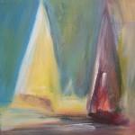 Segler (Acryl a. Leinwand) 20x20